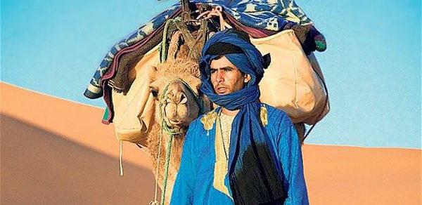 Hassan en el desierto