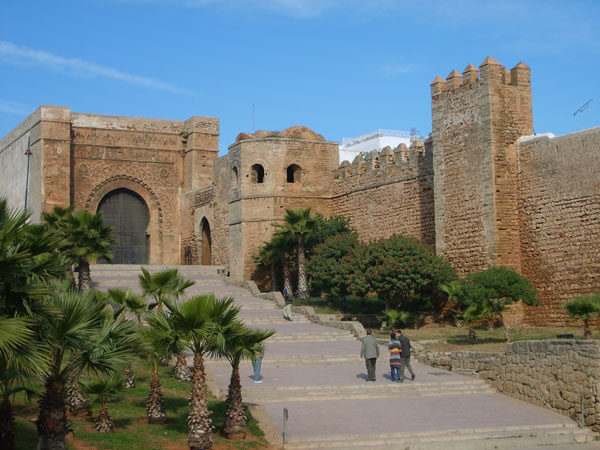 Kasbah Oudayas exterior