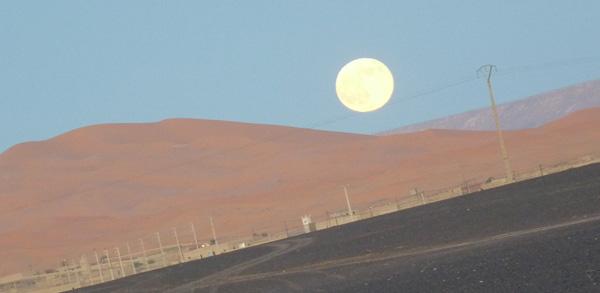 La luna de Marruecos