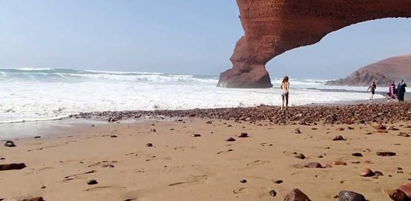 Playa de los arcos