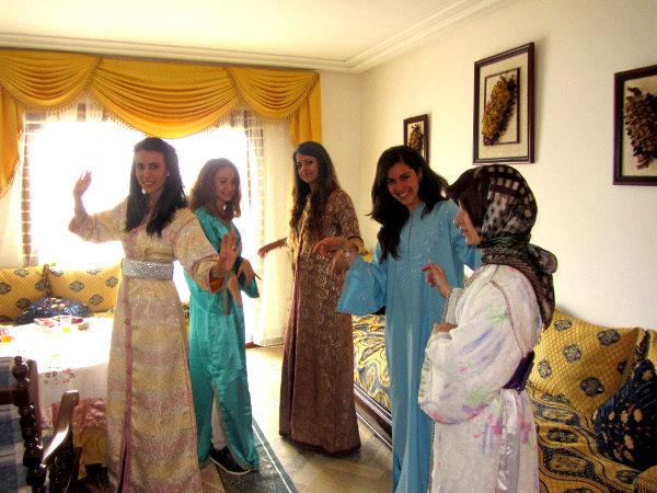 chicas marroquies