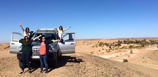 desierto con argentinas