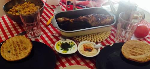 mesa marroqui