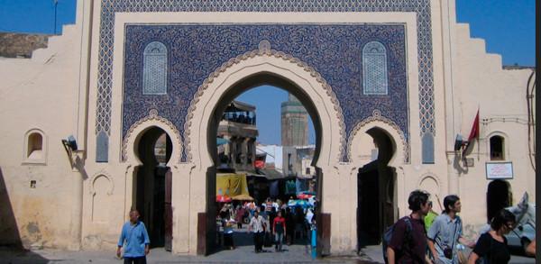 puerta-azul-medina-de-fez
