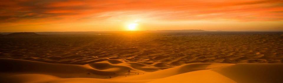 puro desierto