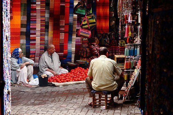 tiendas en marruecos viaje